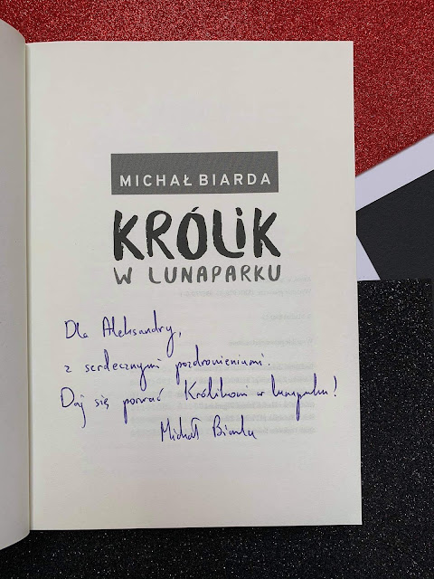 """""""Królik w lunaparku"""" Michał Biarda"""