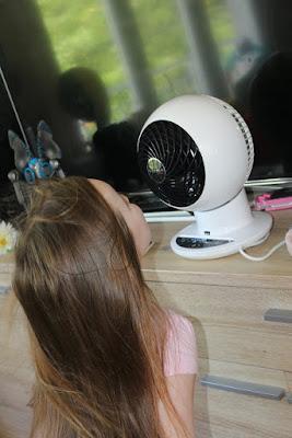 iris ohyama, ventilateur