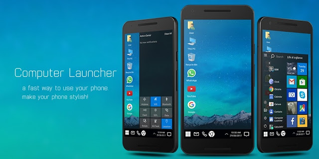 Computer Launcher Premium apk free download