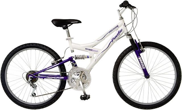 PacificTuson Dual Suspension Mountain Bike-24 Wheels