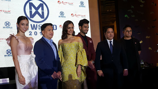 Philippines to Host Mr. World 2018 for the First Time