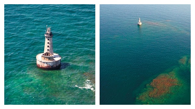 Stannard Rock Lighthouse, the most lonely place on the planet