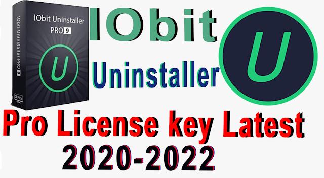 IObit Uninstaller 10 PRO  WITH License KEY latest 2021