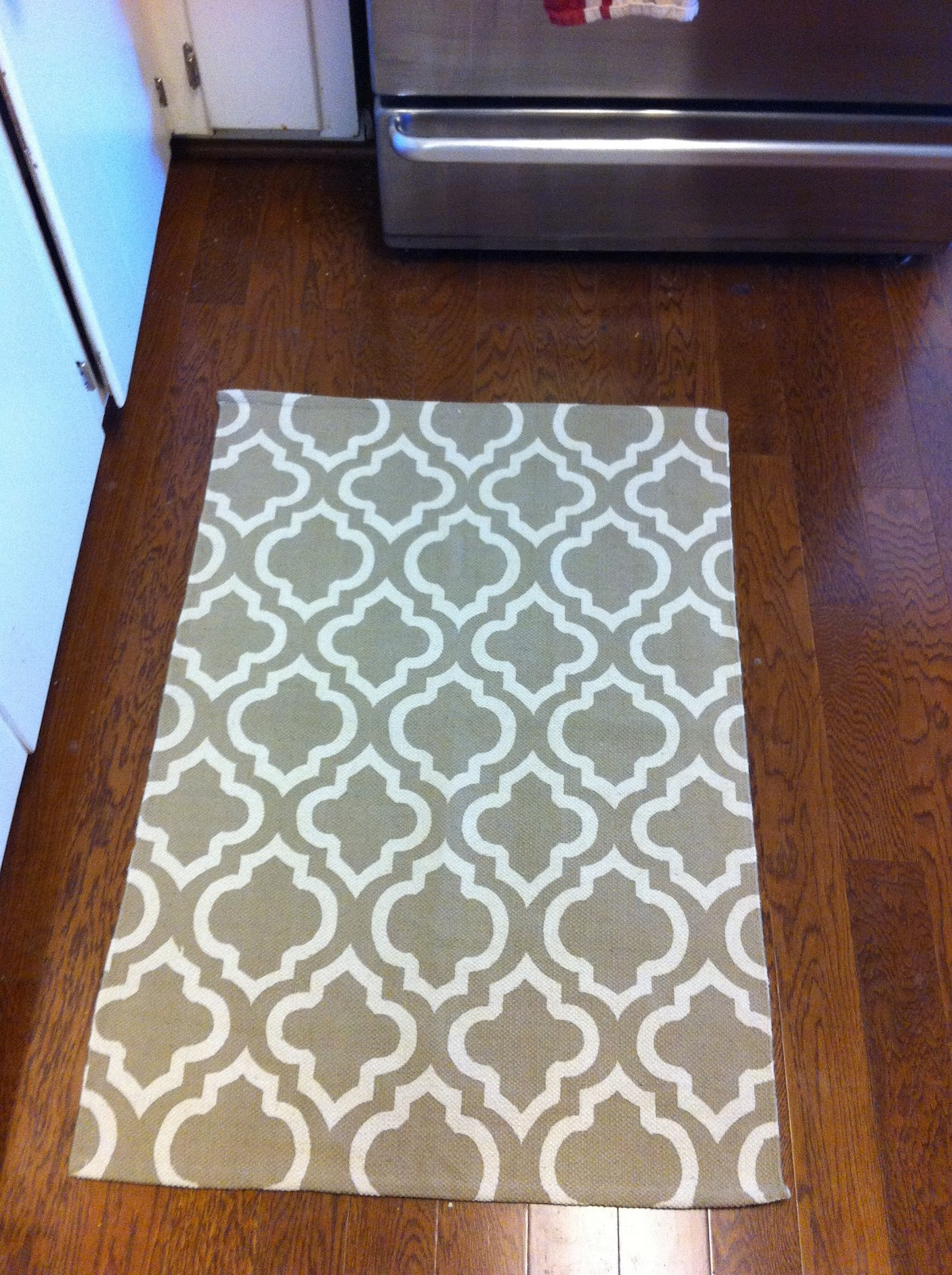 Home Sweet Home Improvement: New Kitchen Rugs