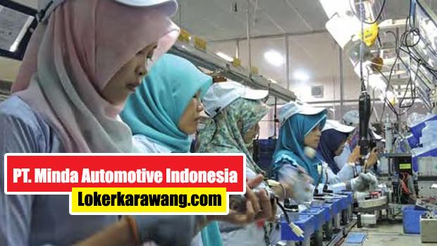 Lowongan Kerja PT Minda Automotive Indonesia Karawang