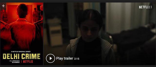 Play Delhi Crime (2019) indian Hindi Web Series Trailer online for free
