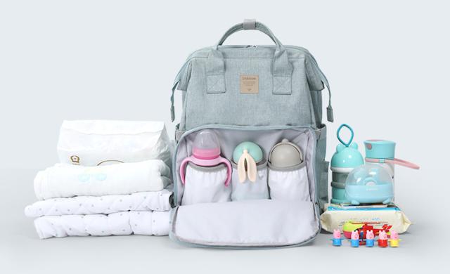 【新品介紹】Aiyo0o 嬰兒多功能背包床 具有分層收納一打開即變 BB 床