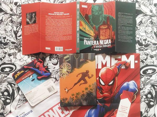 Clube Leitura Marvel #05, assinatura exclusiva dos livros Marvel!