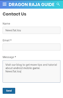 How to Make a Contact Form on Blogger Static Pages
