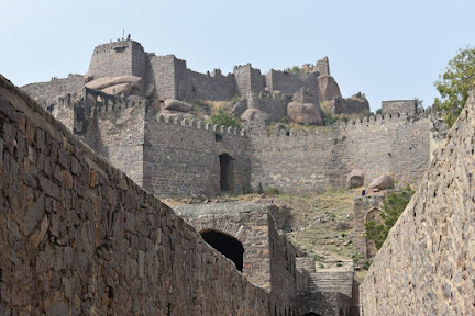 best visiting places around Hyderabad, golconda fort