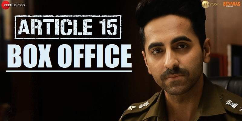 Article 15 Box Office Collection Poster