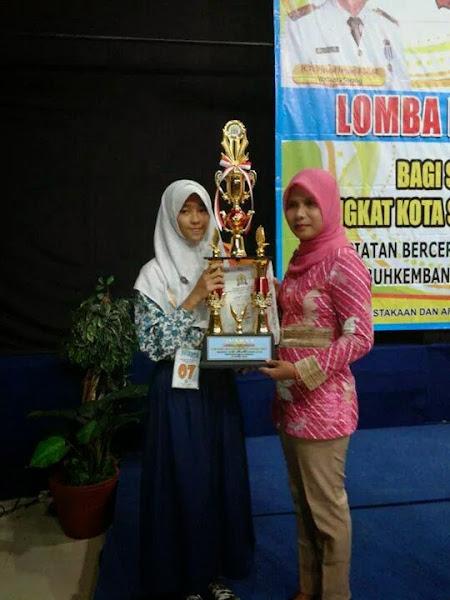 Putri Ani, Anak Juara RZ Cilegon Raih Juara 1 Lomba Bercerita Tingkat Kota