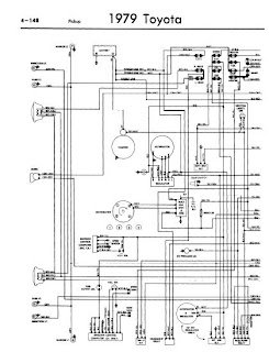 repair-manuals: Toyota Pickup 1979 Wiring Diagrams