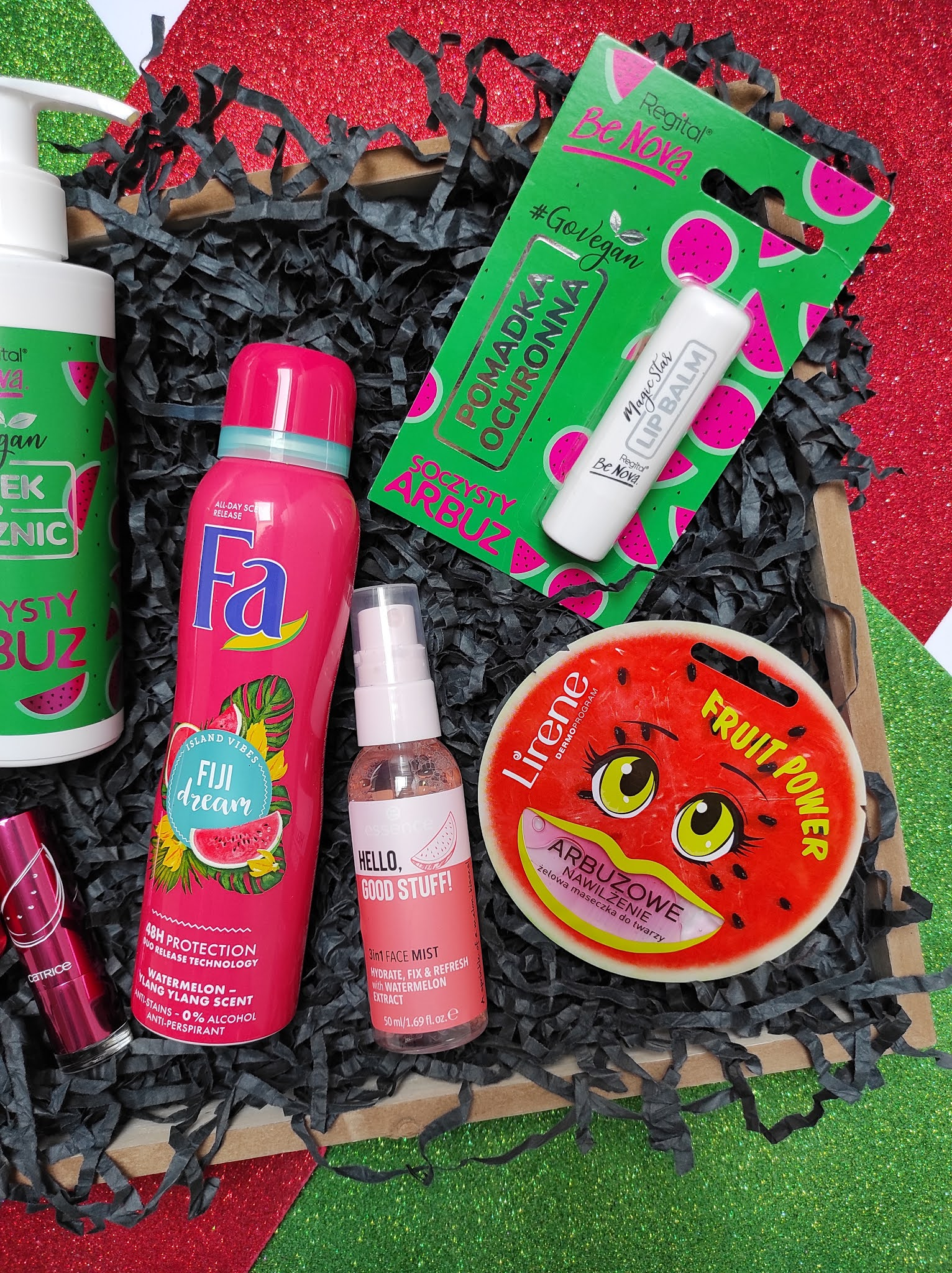 Przegląd arbuzowych kosmetyków drogeryjnych