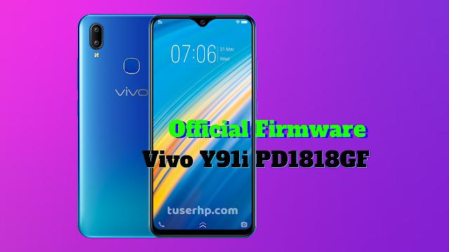 Firmware Vivo Y91i PD1818GF - TUSERHP