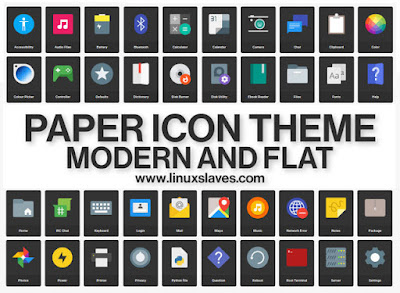 Paper Beautiful Icon Pack For Ubuntu Linux