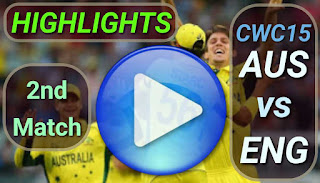AUS vs ENG 2nd Match