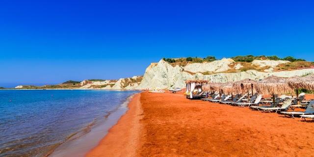 Η πανέμορφη παραλία Ξι στην Κεφαλονιά