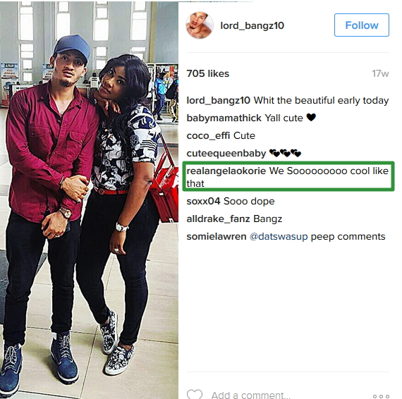 The Identity Of Actress Angela Okories Boyfriend REVEALED