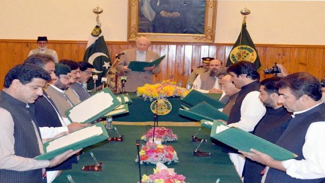 Baluchistan Cabinet 2019
