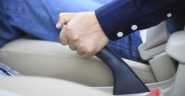 Teknik Berhenti Di Tanjakan Dengan Rem Tangan