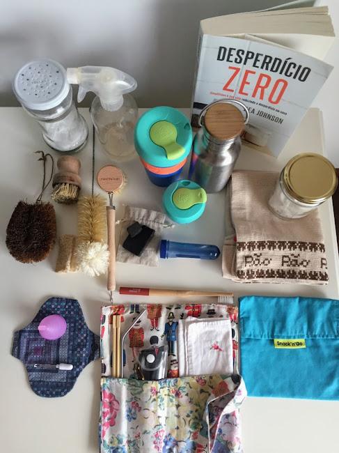 Objetos para uma vida desperdício zero