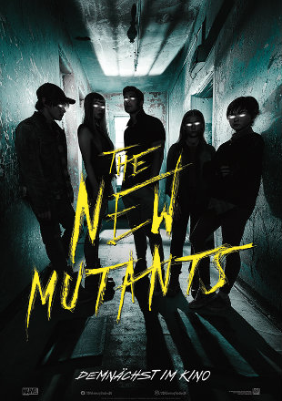 The New Mutants 2020 HDCAM 900Mb Hindi Dual Audio 720p