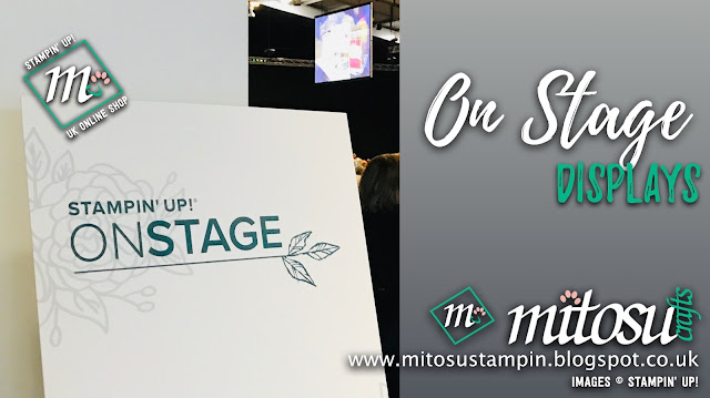 #onstage2019 #telfordonstage2019 Stampin' Up! Event Display Boards from Mitosu Crafts UK
