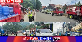 Pembatasan Mobilitas, Polres Tana Toraja Segera Tegakkan UU Lalu Lintas NO. 22 Tahun 2009