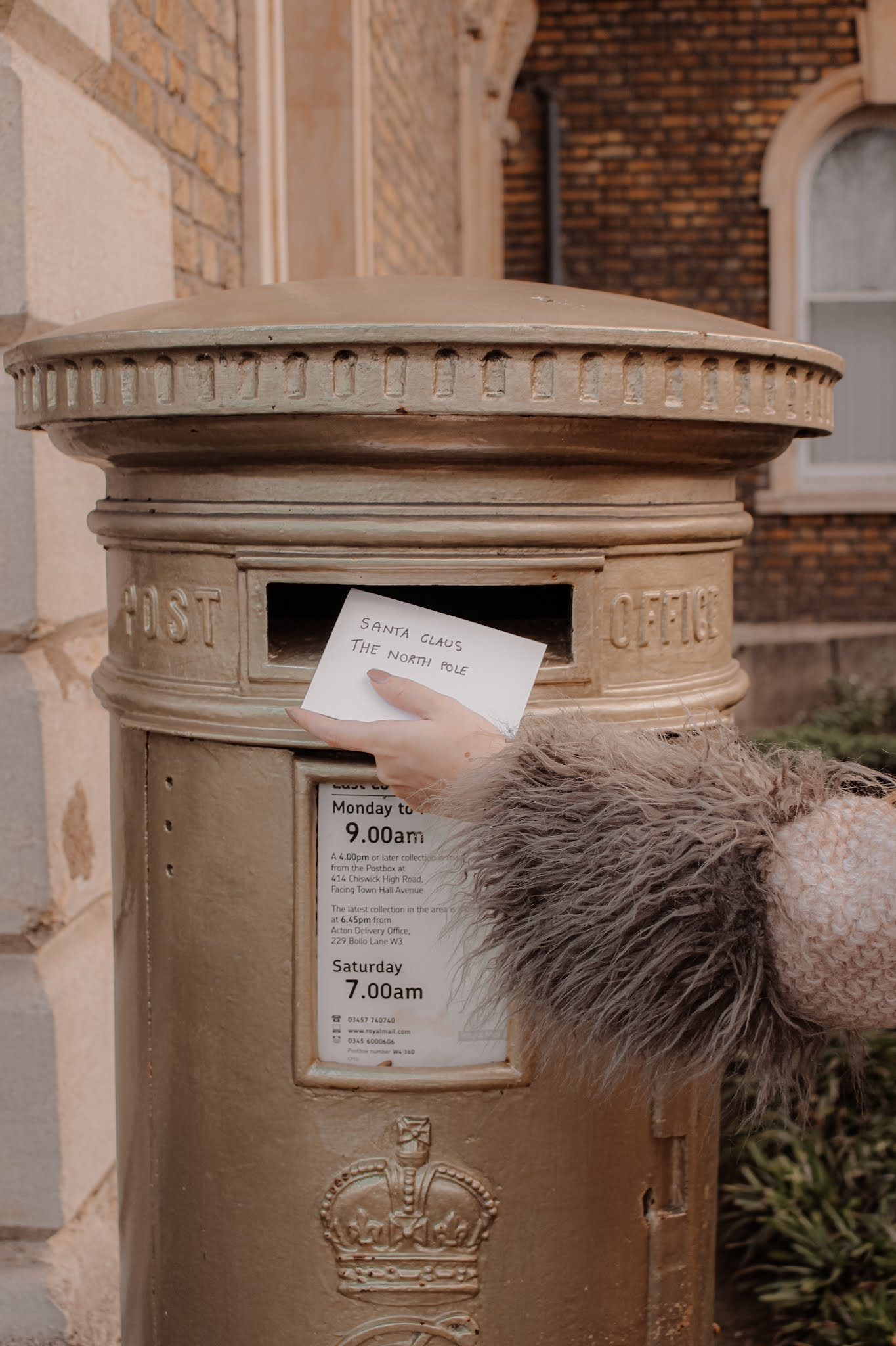 Olympic Gold Post Office Box