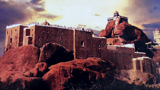 Image contains rock fort