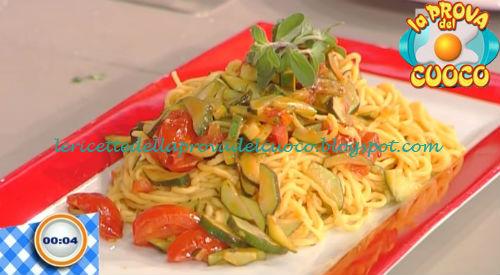 Tagliolini con pomodorini e zucchine ricetta Bertol da Prova del Cuoco