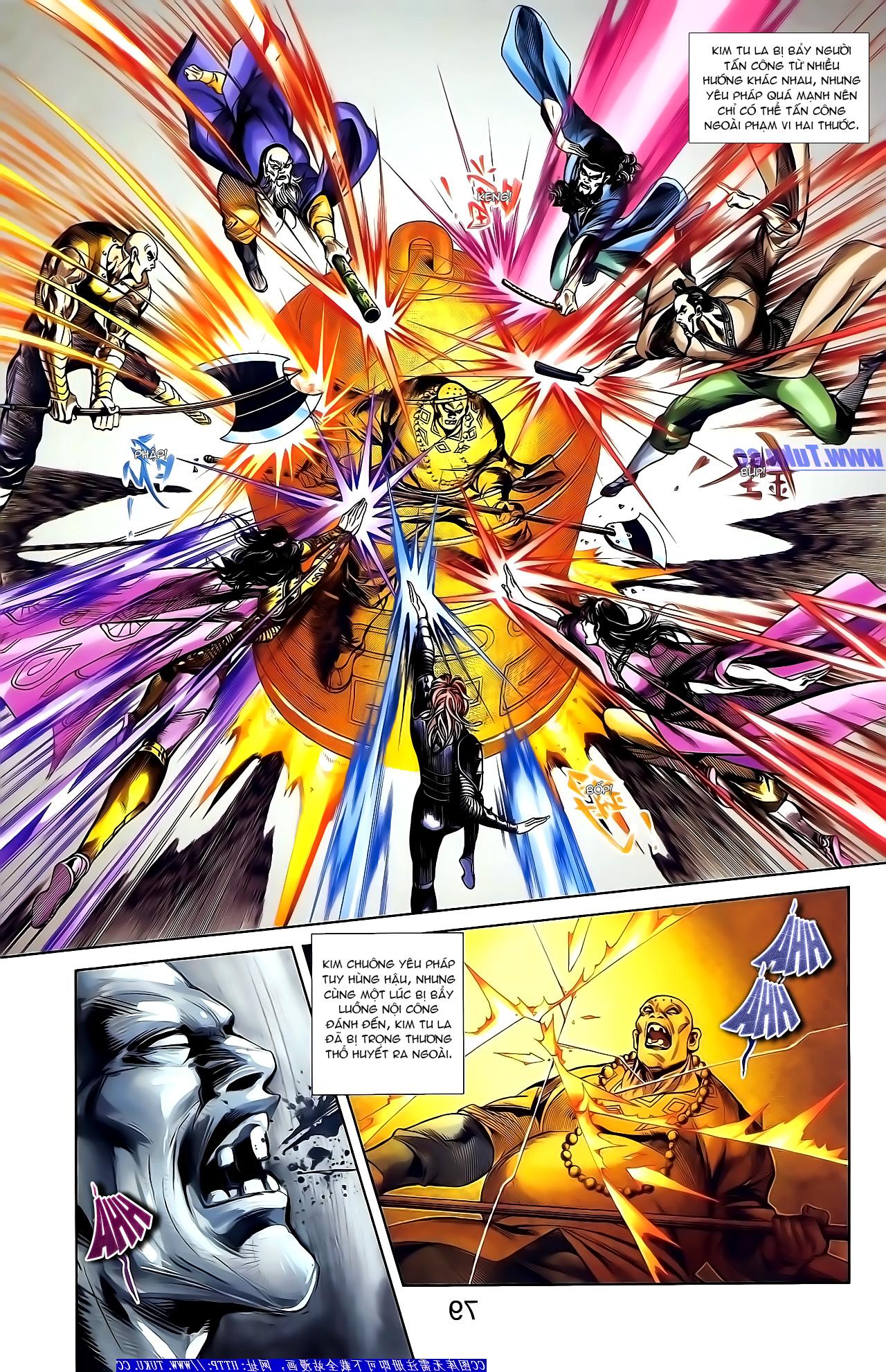 Cơ Phát Khai Chu Bản chapter 155 trang 10