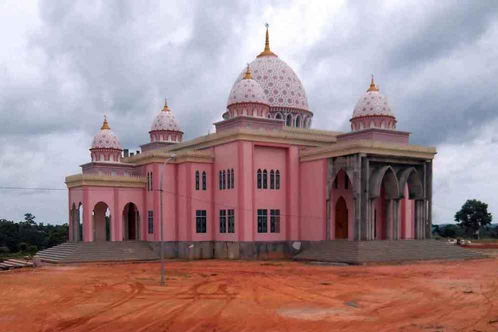 Masjid Pink di Bintan
