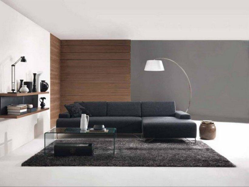 sofa ruang tamu hitam 2