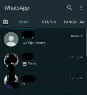 Update! 7 Cara Aktifkan Dark Mode Di WhatsApp Android 100% Work