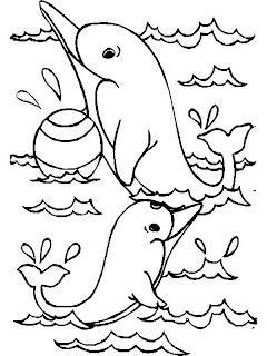 Imagens De Animais Marinhos Para Imprimir E Colorir O Mundo Das