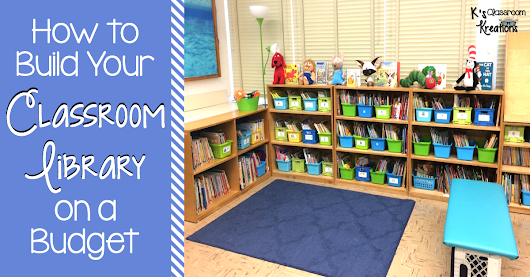 How to Build Your Classroom Library on a Budget