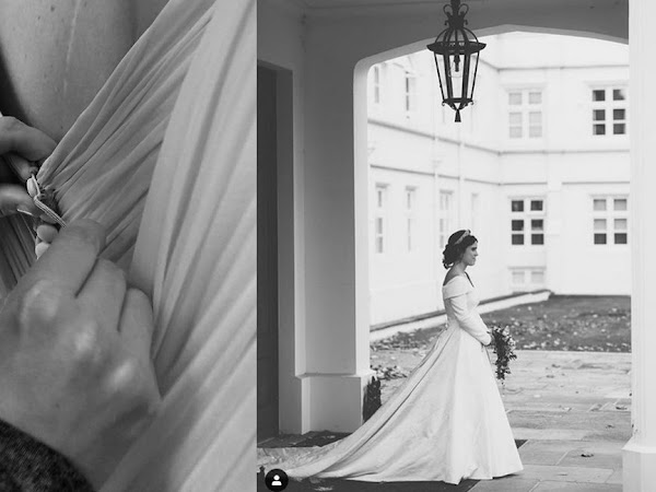 1 rocznica ślubu księżniczki Eugenie i Jack'a Brooksbank.
