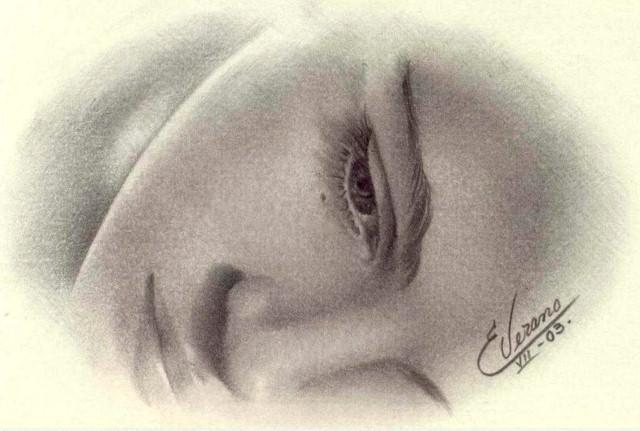 Рисунки карандашом. Elia Verano 26