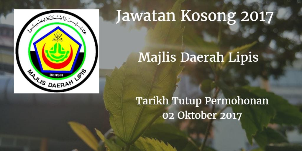 Jawatan Kosong MDL 02 Oktober 2017