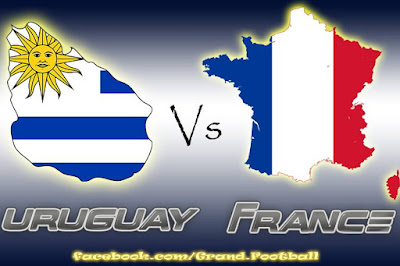 URUGUAY VS FRANCE LIVE STREAM WORLD CUP 6 JUNE 2018
