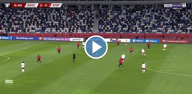 Georgia vs Spain Live Score