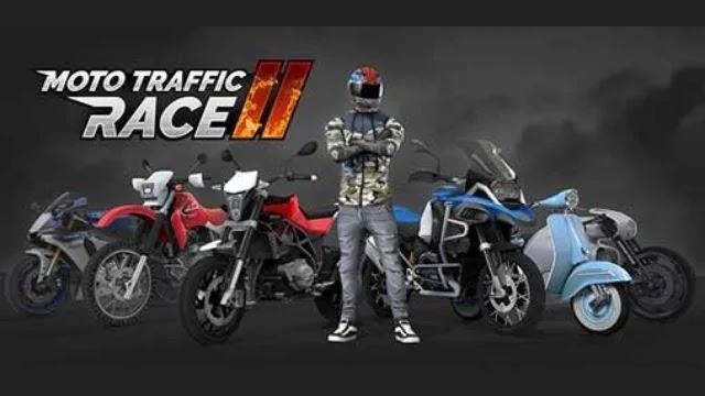 تحميل moto traffic race 2 مهكرة
