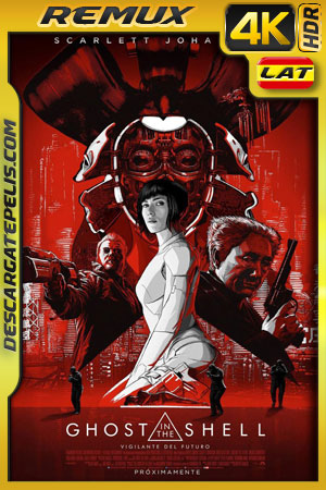 Ghost in the Shell: Vigilante del futuro (2017) 4k BDRemux HDR  Latino – Ingles