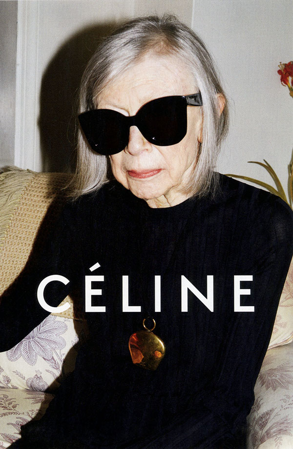 Joan Didion for Céline