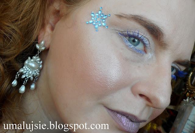 "Makijaż ""Królowa Śniegu"""