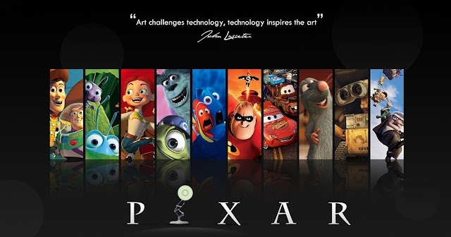 Curso grátis de animação da Pixar
