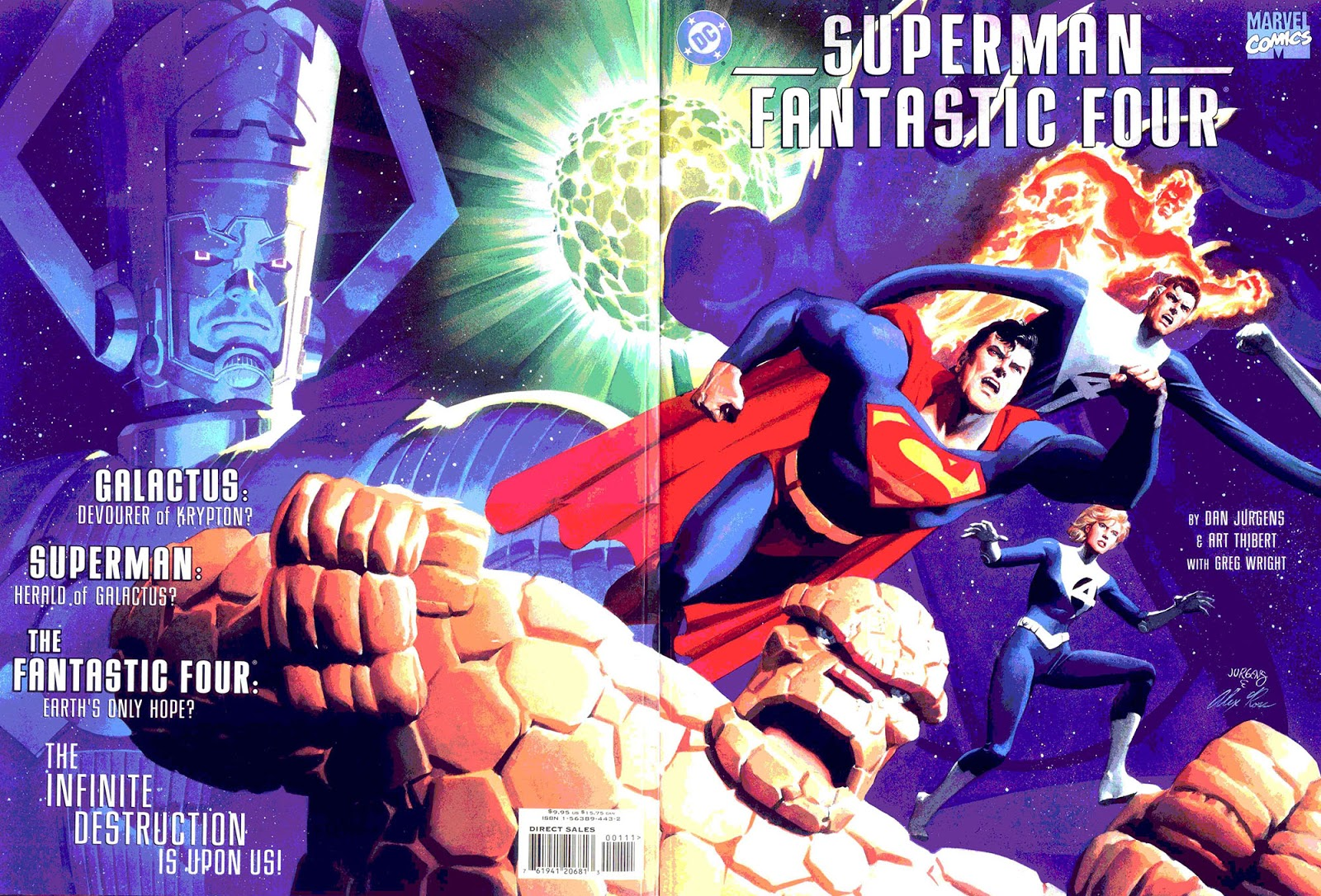 Superman/Fantastic Four 1999