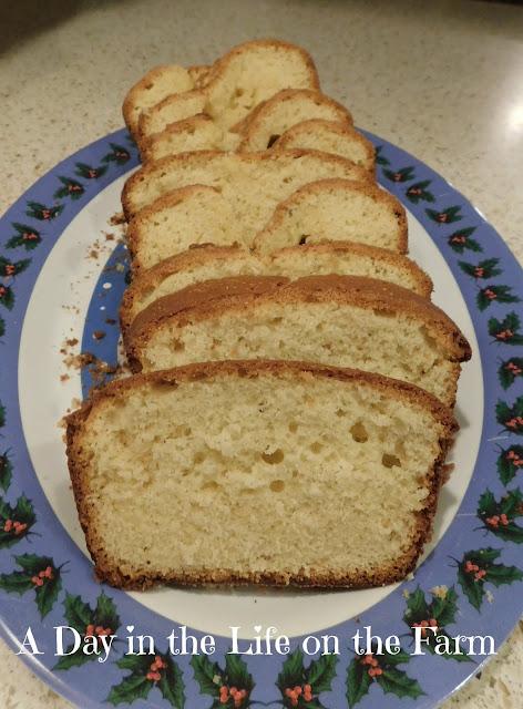 Lemon Rosemary Yogurt Loaf